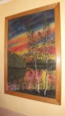 Продам картину ручной работы из мраморной крошки.