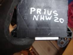 Блок управления климат-контролем. Toyota Prius, NHW20 Двигатель 1NZFXE