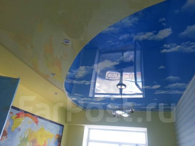 Слив воды с натяжных потолков.