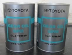 Toyota. Вязкость 75W90, синтетическое