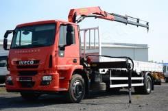 Iveco Eurocargo. бортовой с КМУ Palfinger PK10000 ML180E28 2015 г., 5 980 куб. см., 10 000 кг.