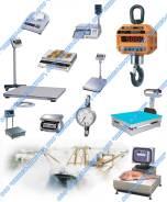 Весы крановые, платформенные, складские, торговые, фасовочные, лабораторные