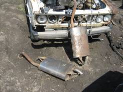 Насадка на глушитель. Toyota Corolla, NZE121 Двигатель 1NZFE