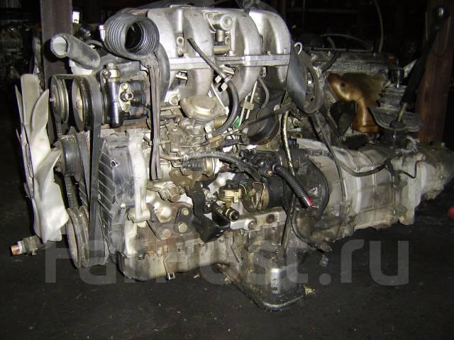 Контрактный б/у двигатель 4JB1-T на Isuzu
