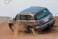 Рейлинг. Nissan Patrol, Y62