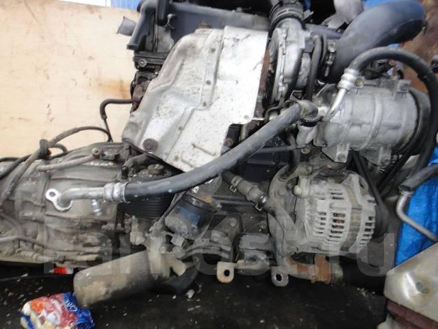 Контрактный б/у двигатель 4JX1-TE на Isuzu