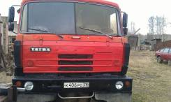 Tatra T815. Татра-815, 12 667 куб. см., 17 500 кг.
