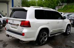 Спойлер. Toyota Land Cruiser