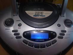 Магнитофон LG MP3 + кассеты и СД