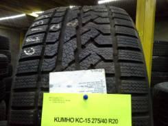 Kumho I'Zen RV KC15. Зимние, без шипов, 2011 год, без износа, 2 шт