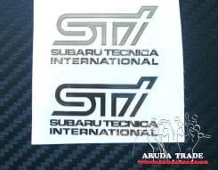 Наклейка на колесный диск. Subaru