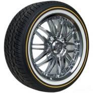 Vogue Tyre Whitewall W/Gold Tire, 215/70R17. летние, новый
