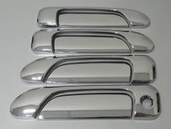 Накладка на ручки дверей. Honda Fit Aria