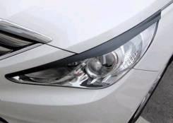 Накладка на фару. Hyundai Sonata, YF