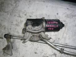 Мотор стеклоочистителя. Toyota Corolla, AE100G, AE100 Двигатель 5AFE
