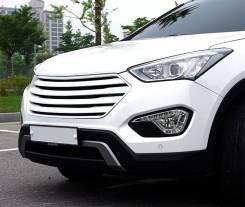 Решетка радиатора. Hyundai Grand Santa Fe