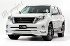 Обвес кузова аэродинамический. Toyota Land Cruiser Prado, GDJ150, GDJ150L, GDJ150W, GDJ151W, GRJ150L, GRJ150W, GRJ151W, KDJ150, KDJ150L, TRJ12, TRJ150...
