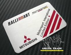 Табличка. Mitsubishi