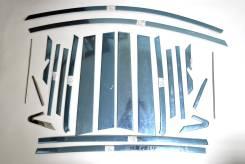 Хром окантовка вокруг окон 22 элемента Toyota RAV4 2013+