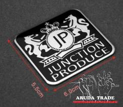 Табличка Junction Produce (JP) алюминий (квадратная)