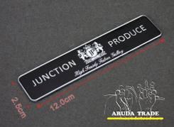Табличка Junction Produce (JP) алюминий
