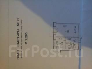 1-комнатная, с.Калинка,Энергетиков 3. Железнодорожный, частное лицо, 33 кв.м.