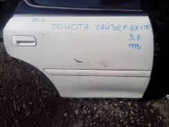 Дверь боковая. Toyota Chaser, GX100