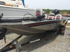 Алюминиевый катер для рыбалки пр-во США Bass Tracker Pro 170. Год: 2010 год, длина 5,00м., двигатель подвесной, 50,00л.с., бензин