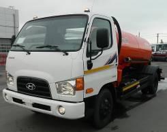 Hyundai HD78. вакуумная 4 куб. метра цистерна, 3 900 куб. см.