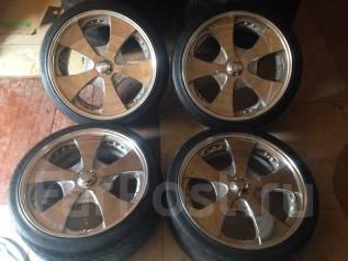 Редкие диски Lodio drive с резиной Nitto. x20 5x114.30 ET35/38 ЦО 72,0мм.