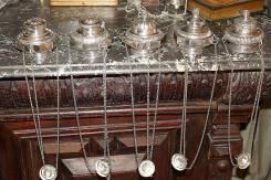 Коллекция из пяти серебряных лампад эпохи Ампира. Россия, 1830-е гг. Оригинал