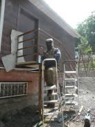 Сантехработы, сварочные, бетоноломные работы, генератор.