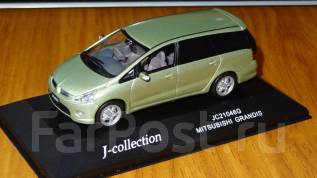 Модель Mitsubishi Grandis, J-Collection, 1:43, металл