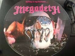 Megadeth - Killing is My Business . And Business is Good - UK PIC LP