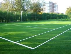 Искусственная трава. Стадион. Футбольное поле. Поле для гольфа
