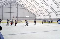 Хоккейная коробка, изготовление, поставка, монтаж