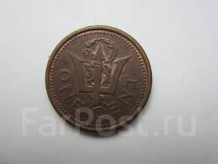 Барбадос 1 цент 2000 года