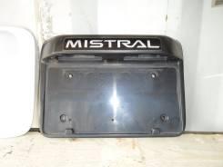 Рамка для крепления номера. Nissan Mistral, R20
