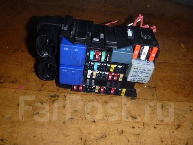 renault fluence фото блока предохранителей