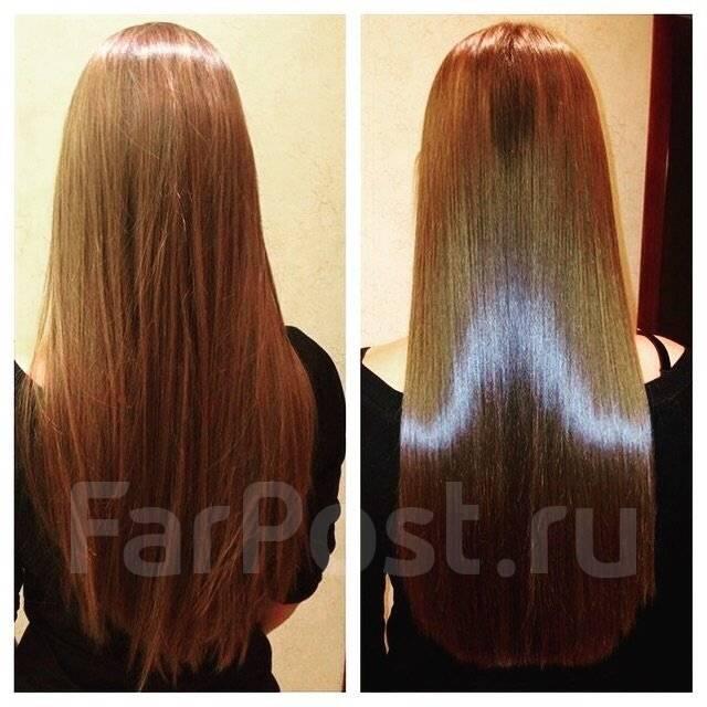Домашний ботокс для волос