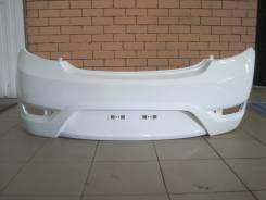 Бампер задний Hyundai Solaris хетчбэк