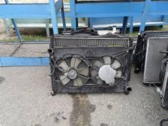 Радиатор охлаждения двигателя. Toyota Isis, ANM10 Двигатель 1AZFSE