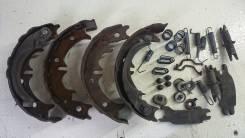 Механизм стояночного тормоза. Toyota Cresta, SX90 Двигатель 4SFE