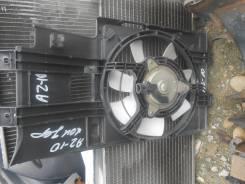 Вентилятор радиатора кондиционера. Nissan Cube, AZ10 Двигатель CGA3DE