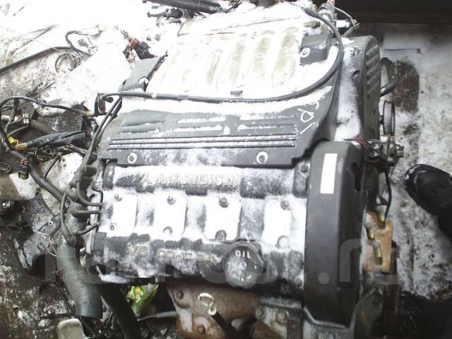 Контрактный б/у двигатель 6G74 Old на Mitsubishi