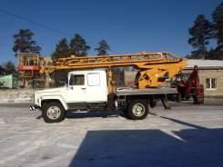 ГАЗ 3309. Продам автоподъемник АП-18-10 на шасси ГАЗ-3309 со сдвоенной кабиной, 4 750 куб. см., 18 м.