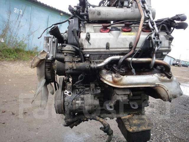Контрактный б/у двигатель 6VD1 на Isuzu