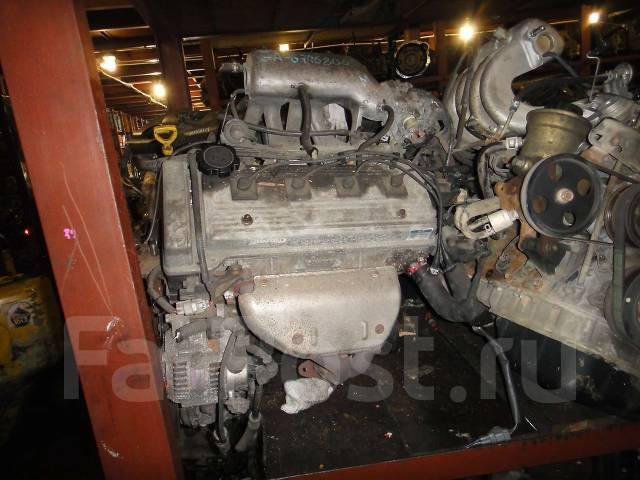 Контрактный б/у двигатель 7A-FE катуш. на Toyota
