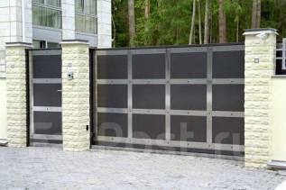 Откатные (сдвижные) ворота, автоматика, комплектующие