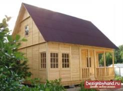 Построим дачный домик, бытовку, туалет, курятник, любое строение